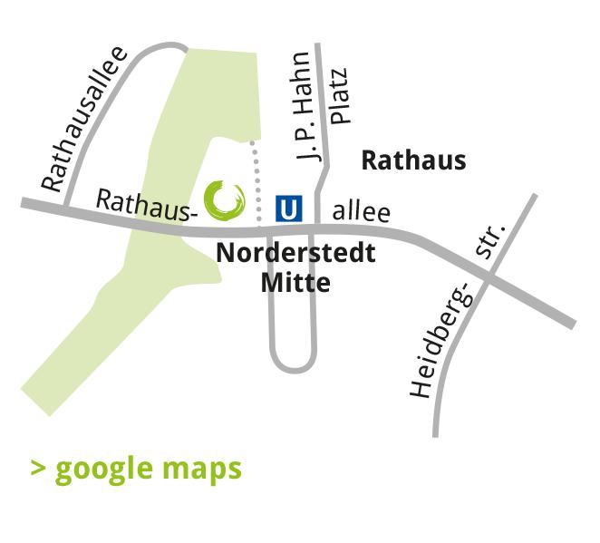Lageplan Norderstedt